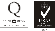ISO9001 Accredited by UKAS