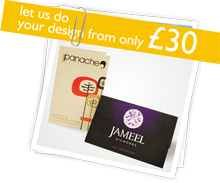 Let us do your design from only £30